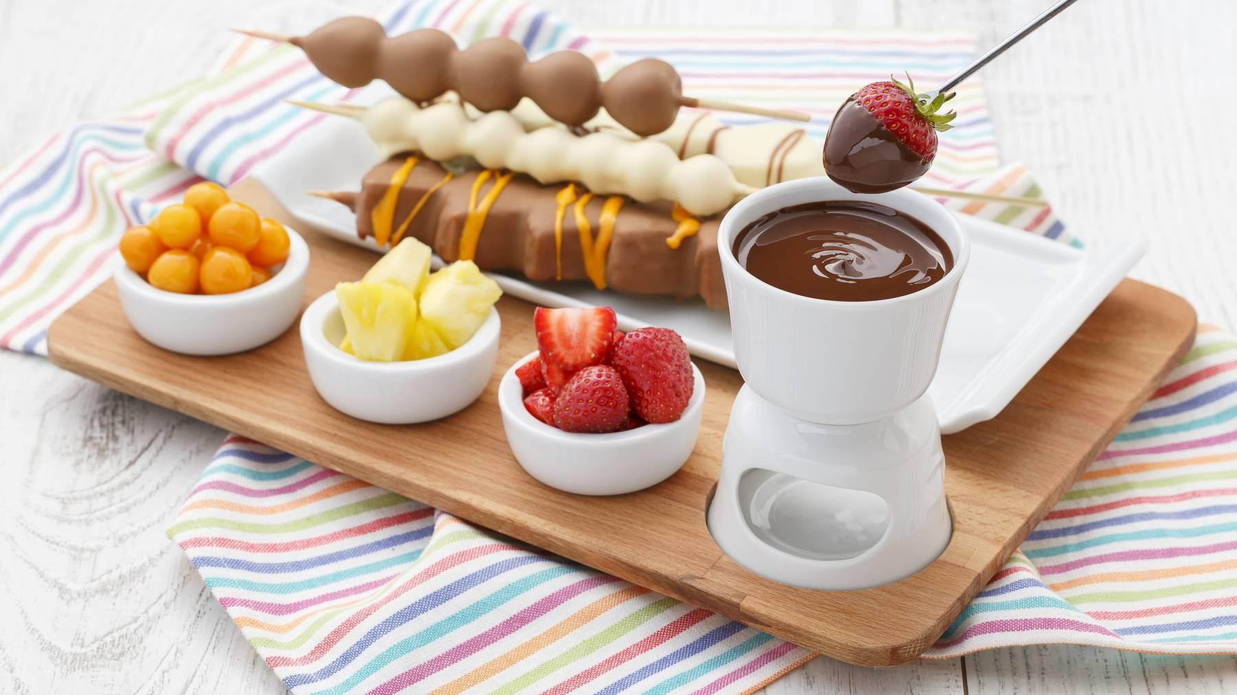 Schokolade macht alles erträglicher