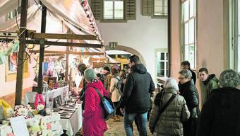 Zum vierten Mal öffnet das nur inoffiziell existierende «Färbergässlein» für den Weihnachtsmarkt seine Tore.