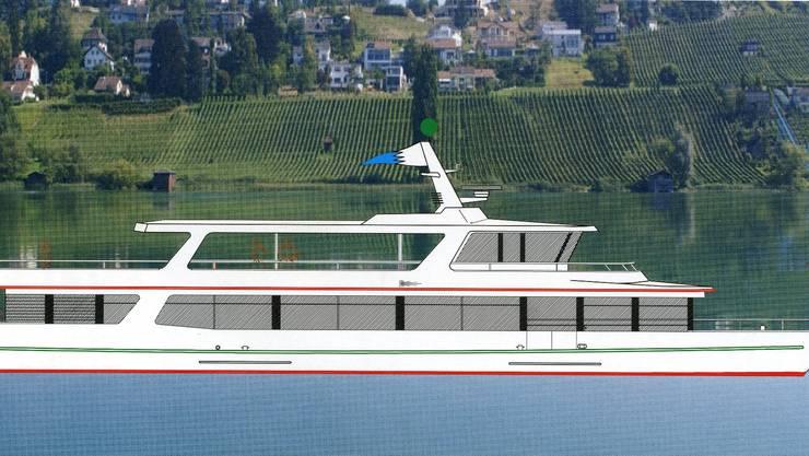 Das neue Hallwilersee-Schiff wird am 11. März eingewassert