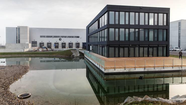 Das Gebäude von Global Warehouse in Derendingen