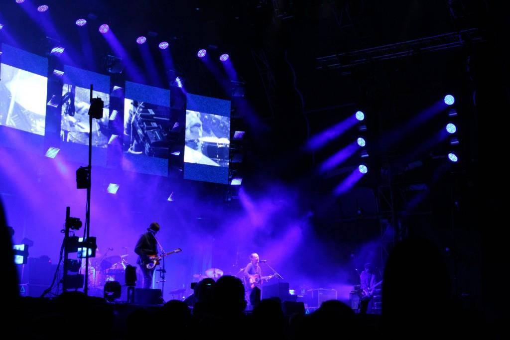 Radiohead auf der Sitterbühne am OASG