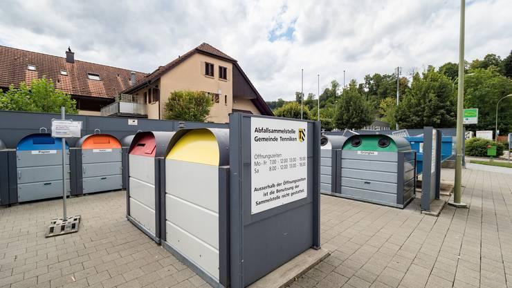 Jährlich 53 Kilogramm Hauskehricht und Sperrgut pro Person: Die Gemeinde Tenniken hat den geringsten Abfallverbrauch der ganzen Region.