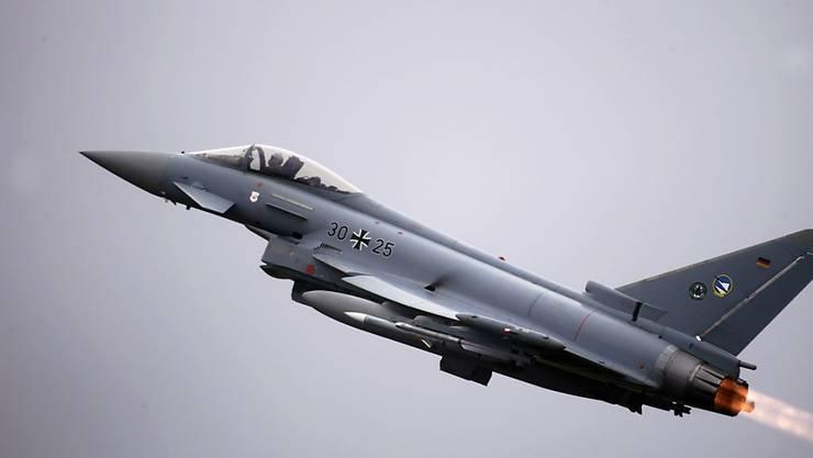 Die deutsche Luftwaffe hat technische Probleme bei seinen Eurofighter-Jets. (Symbolbild)
