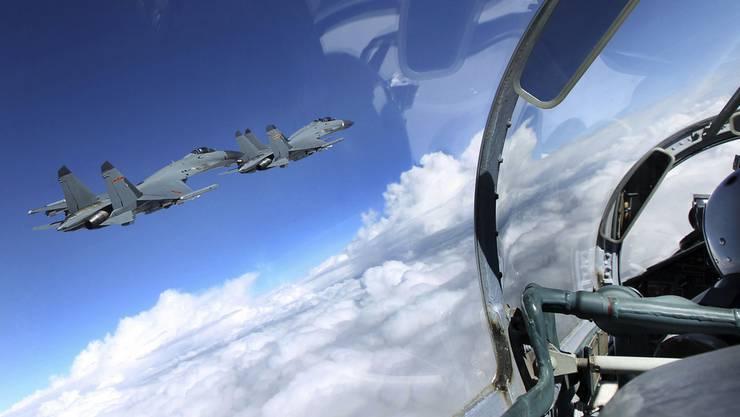 Chinia lässt seine Luftwaffe zu Identifikationsflügen aufsteigen (Symbolbild).