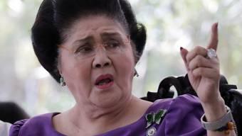 Die 89-jährige Ex-First Lady Imelda Marcos und ihr Ehemann sollen auf Schweizer Konten 200 Millionen Dollar versteckt haben. (Archivbild)
