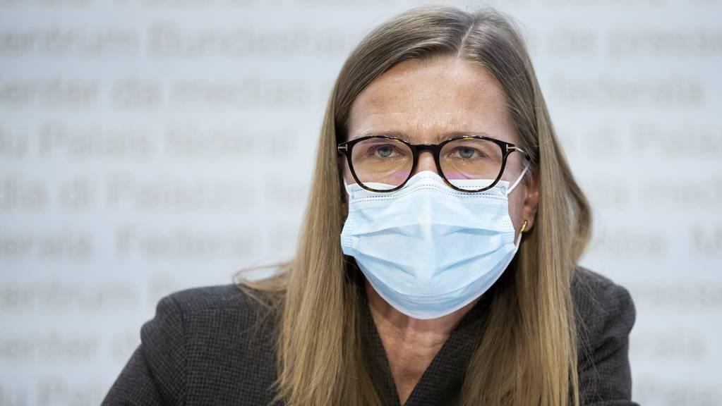 Virginie Masserey, Leiterin Sektion Infektionskontrolle, Bundesamt für Gesundheit BAG