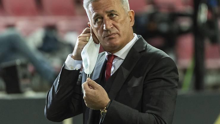 Nationaltrainer Vladimir Petkovic ärgerte sich gegen Deutschland über die Fehler vor den drei Gegentreffern