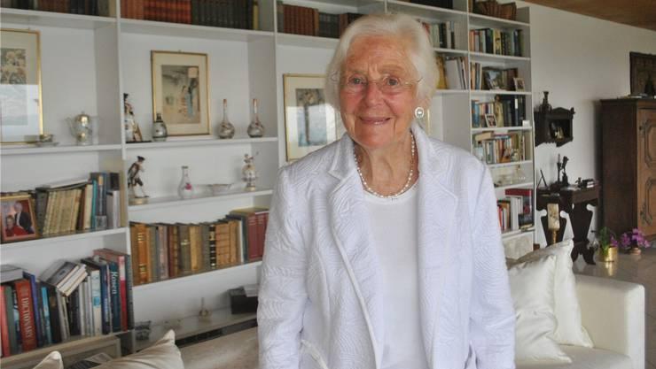 Es ist Luise Thuts Verdienst, dass es seit 21 Jahren die Palliative Care im Kanton Aargau und seit einem Jahrzehnt auch ein stationäres Hospiz gibt. Susanna Vanek