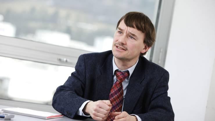 Roland Bialek, Präsident der EVP Aargau