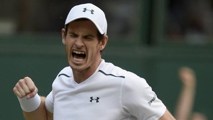 Andy Murray nimmt oft schon vor dem Spiel Schmerzmittel zu sich