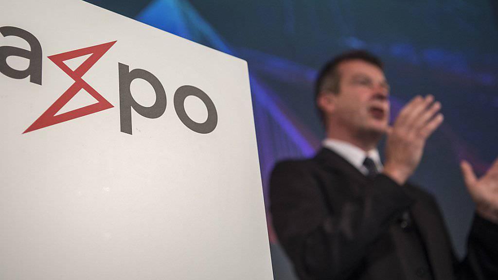 Wieder schwarze Zahlen: Der Energiekonzern Axpo hat im Geschäftsjahr 2016/2017 einen Gewinn von 310 Millionen Franken erreicht. (Archiv)