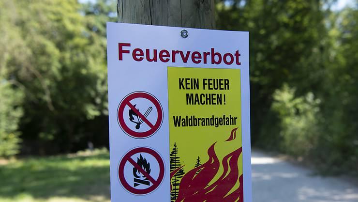Feuerverbot im Baselbiet. (Archivbild)