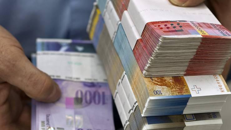 Der Aargau soll 2012 1,6 Millionen Franken mehr im Kässeli haben
