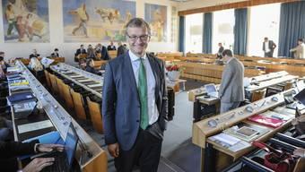 «Das kann eine Betreuungsperson im Umfeld des Regierungsgebäudes sein oder ein Zustupf an bestehende Kindertagesstätten.» Klaus Kirchmayr Grünen-Landrat (Archiv)