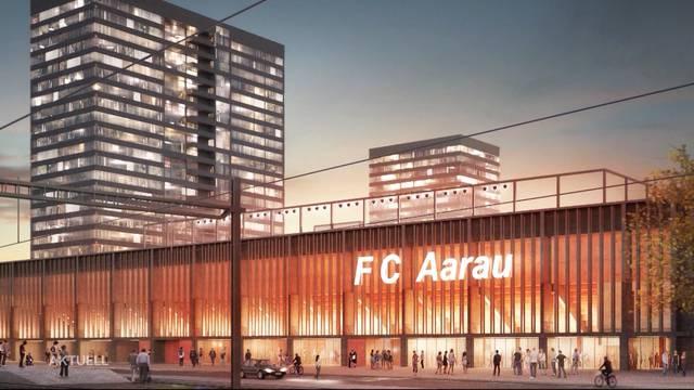Einigung im Aarauer Stadionstreit