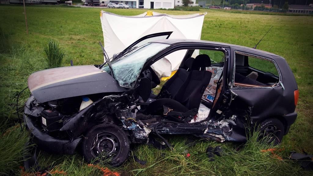 Unfall Bütschwil