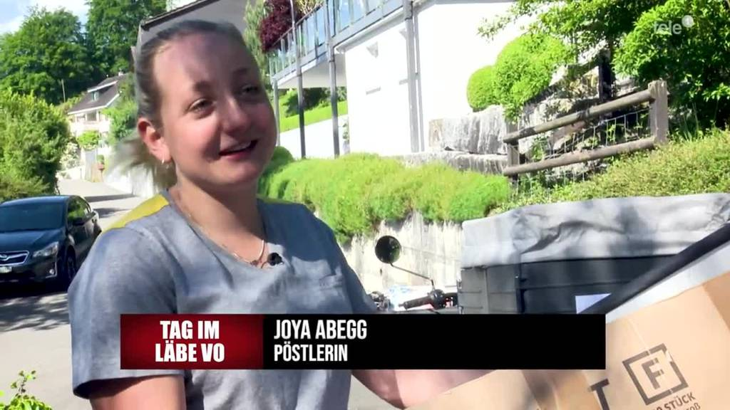 Joya Abegg vertägt die Post in Sarnen