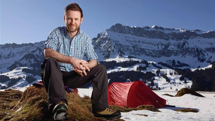 Auch die neue Sendung «Gipfelstürmer» führt den 40-Jährigen in die Berge.