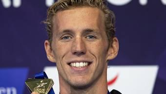 Schwimmer Jeremy Desplanches gewann in diesem Jahr EM-Gold über 200 m Lagen