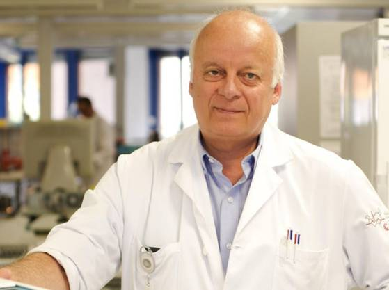 Nicolas Troillet, Leiter Infektionskrankheiten im Spital Wallis.