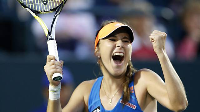 Sensationeller Sieg in Charleston: Belinda Bencic