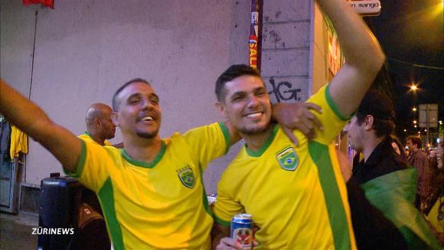 Caliente-Besucher sind trotz WM-Aus für Brasilien in Feierlaune