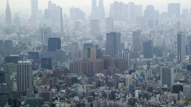 Ein Erdbeben der Stärke 6,2 brachte am Montag auch die japanische Hauptstadt Tokio zum erzittern (Archivbild)