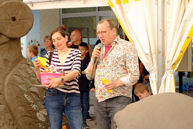 Markus Schwander und Tina Z'Rotz erzählen von ihrer Arbeit
