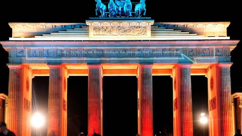Zeuge so mancher Wendepunkte der deutschen Geschichte: Das Brandenburger Tor in Berlin.