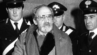 Der 2002 verstorbene Mafioso Vito Ciancimino