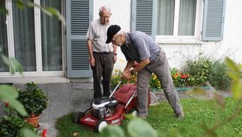 Hilfe beim Rasenmähen: Die Gemeinde lanciert eine Dienstleistungs-Plattform für die Urdorfer Bevölkerung.
