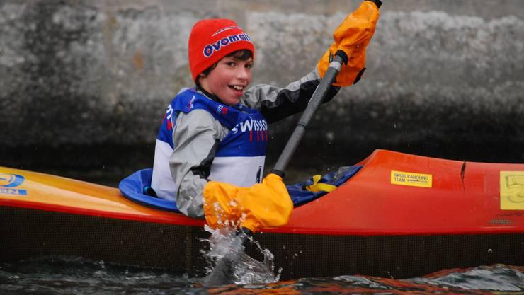 Robin Häfeli gewinnt bei den Jüngsten.