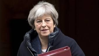 Macht Russland für die Gift-Attacke auf einen russischen Ex-Spion verantwortlich: Die britische Premierministerin Theresa May. (Archiv)