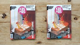 «Kosmos» - Das Magazin für Mädchen (und den Rest der Welt) erscheint sowohl auf deutsch als auch auf französisch. Das soll die Mädchen in der Schweiz über den Röstigraben hinweg verbinden.