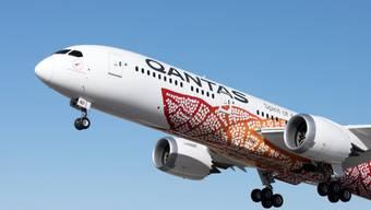 Qantas führte den ultralangen Flug mit einer neuen Boeing-Maschine des Typs 787 Dreamliner durch.