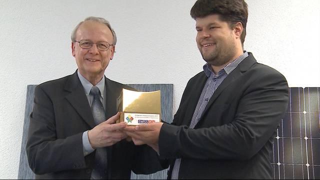 Innovationspreis für Solarfabrik
