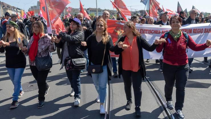 1. Mai-Demos auf der Strasse sind dieses Jahr zum ersten Mal schweizweit abgesagt.