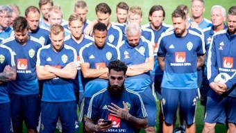 Durmaz und seine Teamkollegen