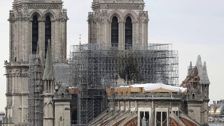 Acht Monate nach dem verheerenden Brand in der Pariser Kathedrale Notre-Dame findet dort erstmals seit Napoleons Zeiten keine Weihnachtsmesse statt. (Archivbild)