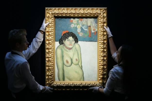 Ob auch Bilder vom Kaliber des Picasso-Gemäldes «La Gommeuse», das 2015 in New York für 67 Millionen Dollar versteigert wurde, in Reinach eingelagert werden, ist noch nicht klar. Fest steht, in den Bau des Hochsicherheitslagers für Kunst werden 64 Millionen Franken investiert.