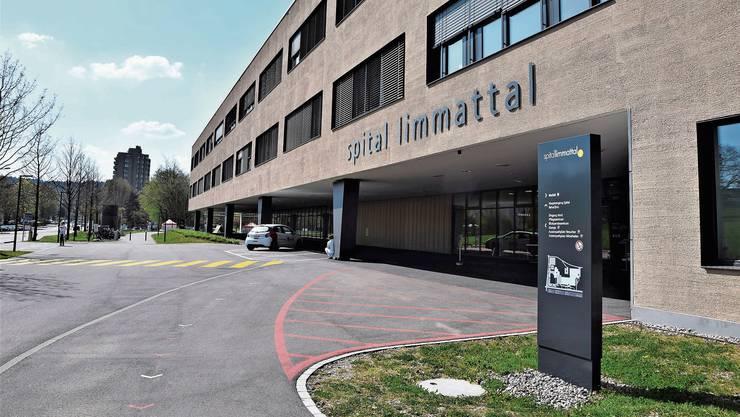 Es ist ruhig beim Spital Limmattal.