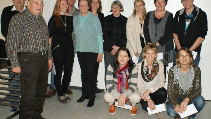 Das Leiterinnen- und Leiter-Team des TuS Hägendorf