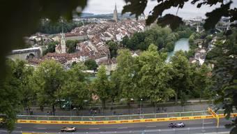 Sorgte für gemischte Reaktionen: Das Gastspiel der Formel E in Bern.