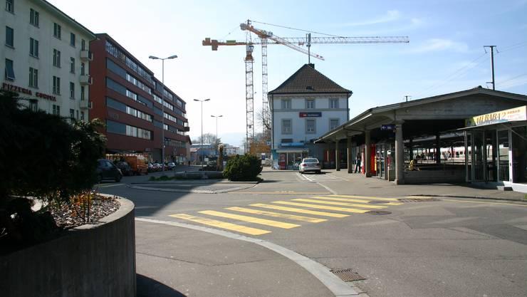 Bahnhof Schlieren SBB Gestaltung Tempo 20 Begegnungszone