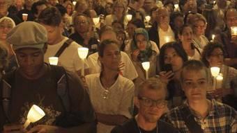 Kerzenlicht gegen Intoleranz in New York