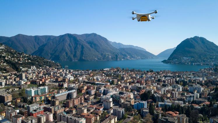 Post nimmt Drohnenflüge wieder auf