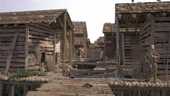 Bereits in Steinzeitsiedlungen gab es offenbar «bessere Quartiere».