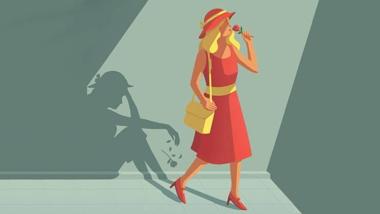 Glück bitte nicht jagen: Je verzweifelter wir danach suchen, umso eher wird es uns entwischen.