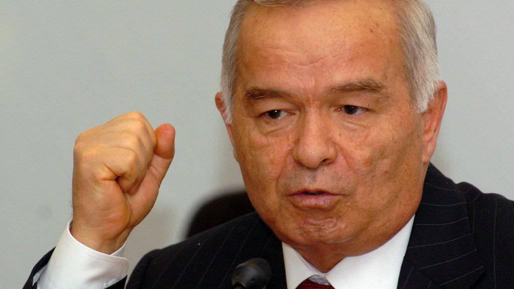 Usbekistans Staatschef Islam Karimow starb 78-jährig an den Folgen eines Schlaganfalls. (Archivbild)