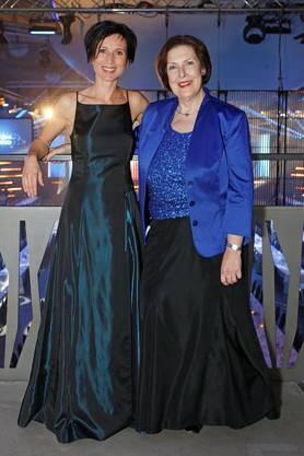 Die Ständerätinnen Pascale Bruderer und Christine Egerszegi